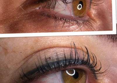 Eyelash Extensions - A close up of a persons face - HM Spa and Salon - Permanent Makeup Tacoma