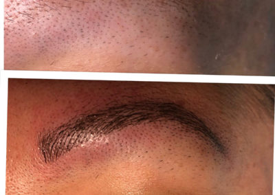 Microblading - A close up of a man - Microblading